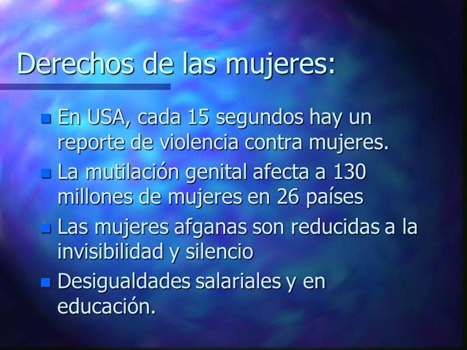 DERECHOS CULTURALES Y DIFERENCIADOS