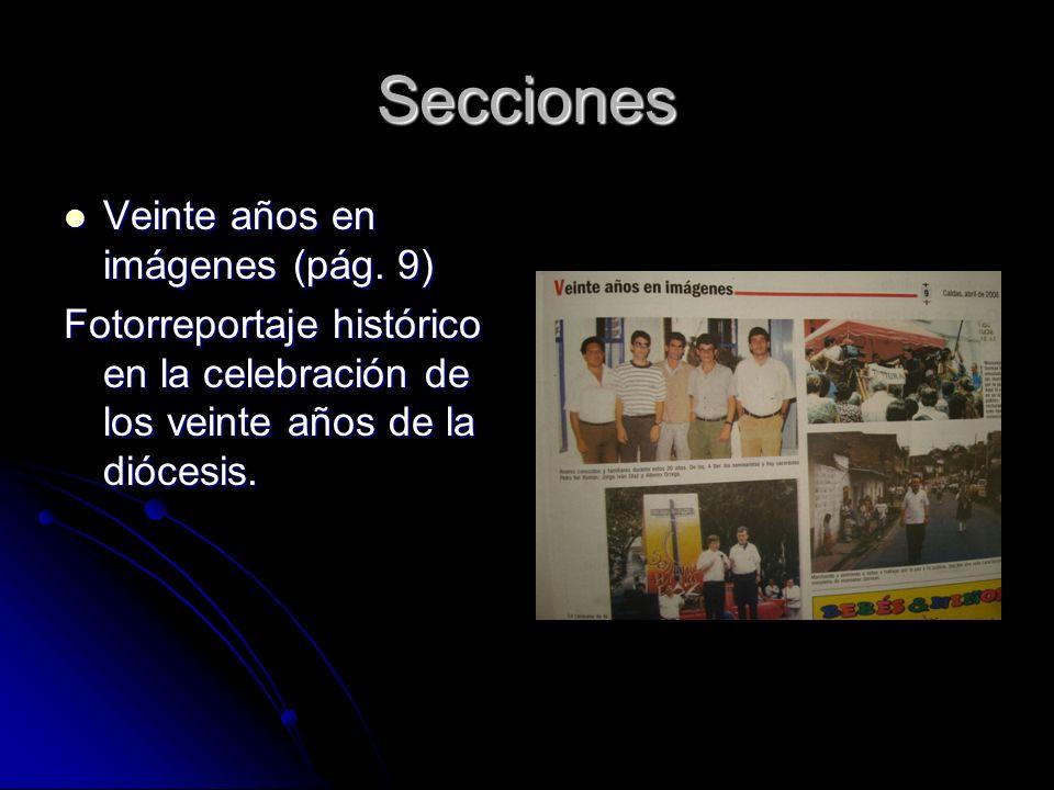 Secciones Veinte años en imágenes (pág. 9) Veinte años en imágenes (pág.