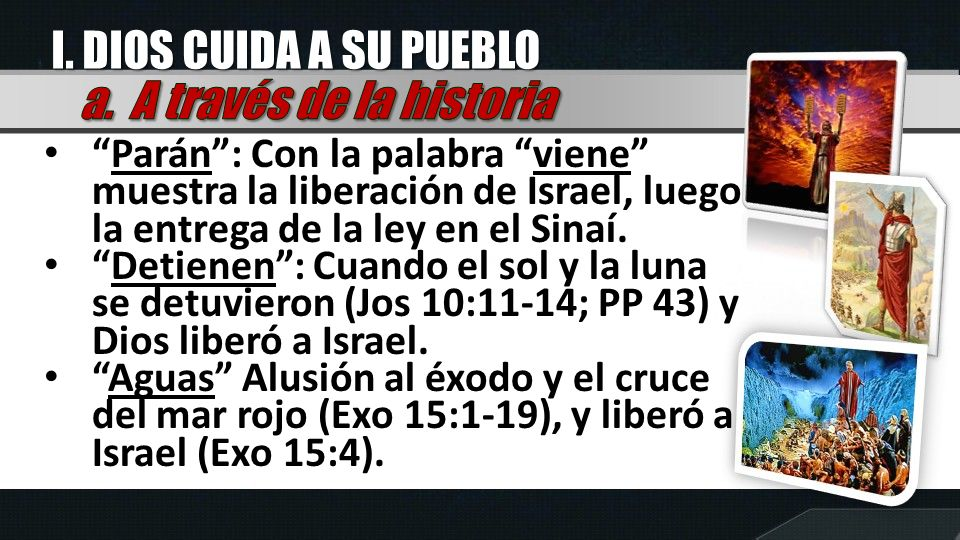 II.DIOS ES FORTALEZA Según Hab.