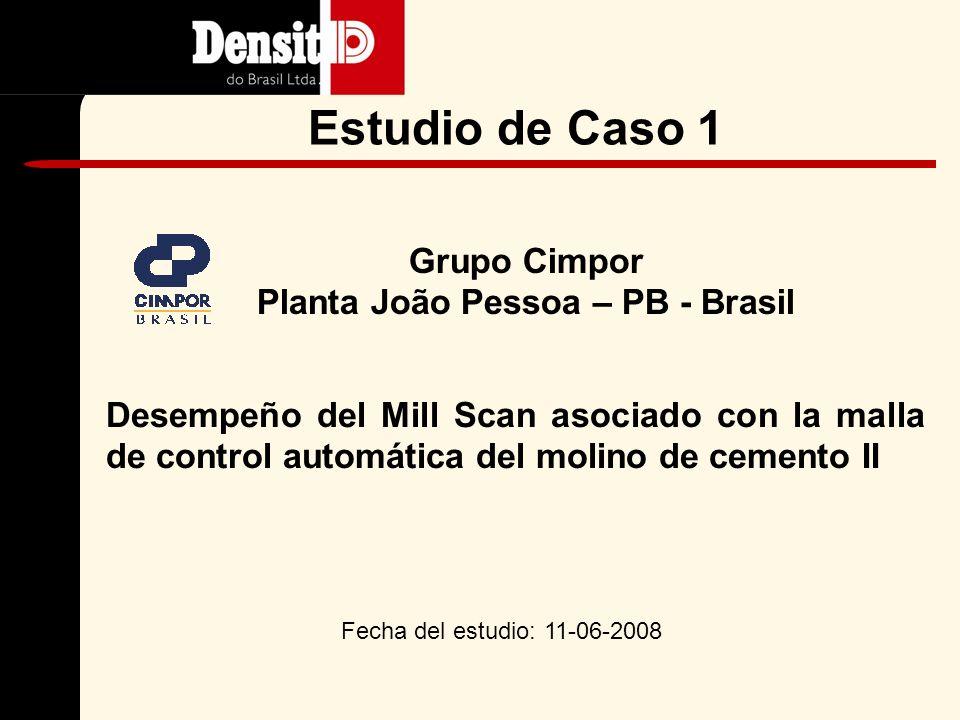 4.Estudios de Caso Grupo Cimpor Planta João Pessoa – PB - Brasil Grupo Nassau Planta Itapessoca - Brasil