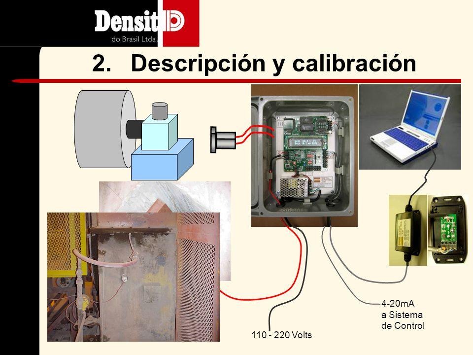110 - 220 Volts 4-20mA a Sistema de Control 2.Descripción y calibración