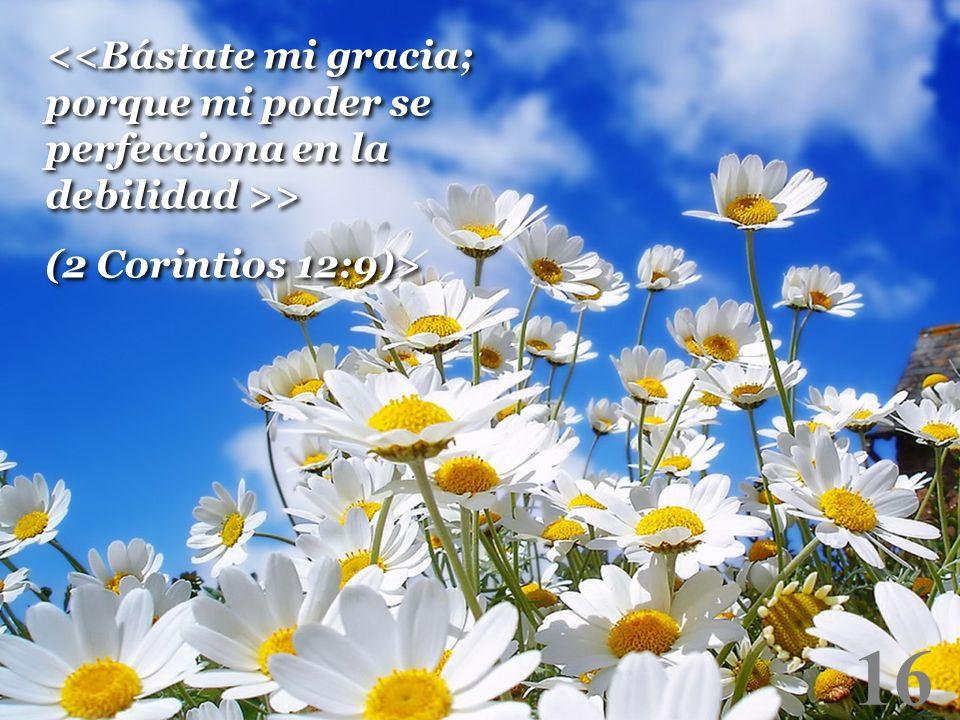 16 > (2 Corintios 12:9)> > (2 Corintios 12:9)>