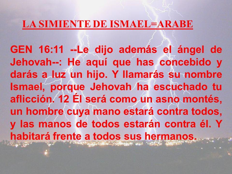 RVA Genesis 25:23 y Jehovah le dijo: --Dos naciones hay en tu vientre, y dos pueblos que estarán separados desde tus entrañas. Un pueblo será más fuer