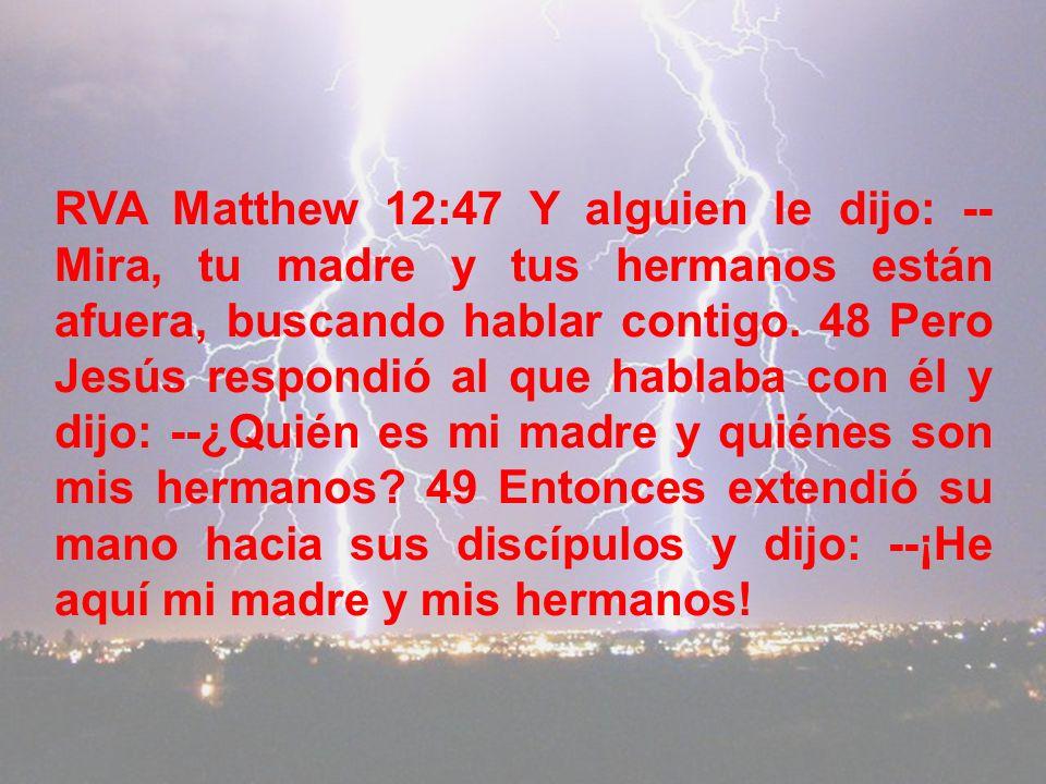 RVA Malachi 2:15 ¿Acaso el Único no hizo el cuerpo y el espíritu de ella? ¿Y qué es lo que demanda el Único? ¡Una descendencia consagrada a Dios!