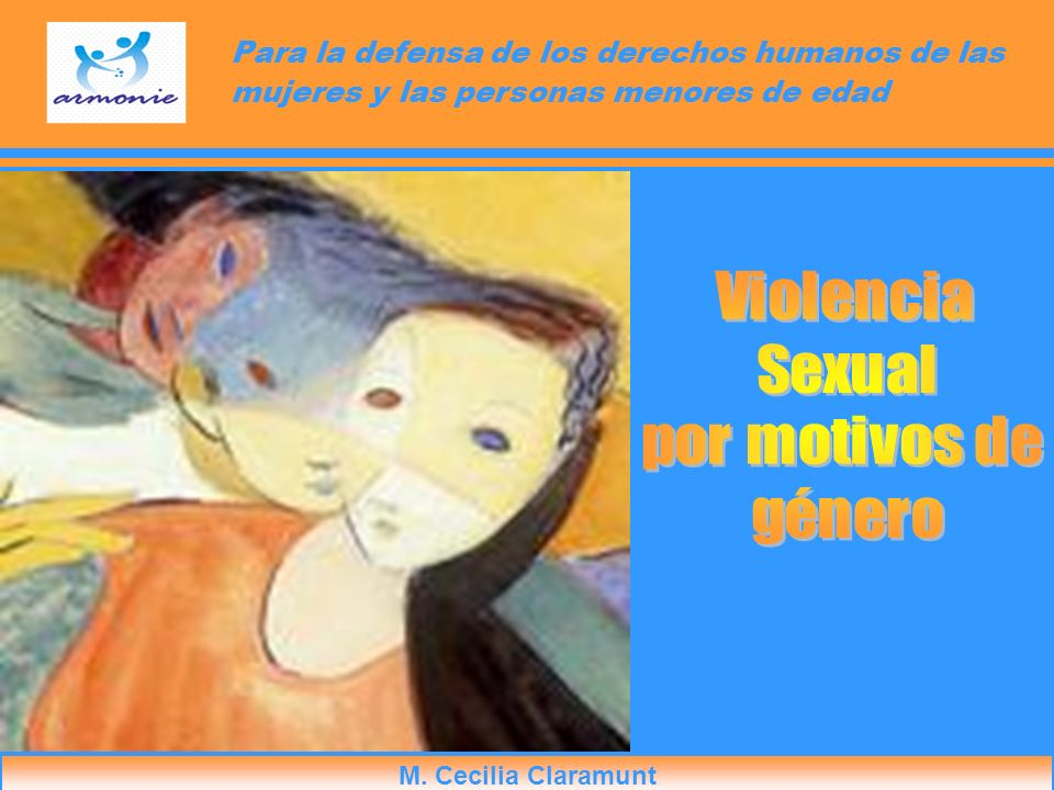 M. Cecilia Claramunt Para la defensa de los derechos humanos de las mujeres y las personas menores de edad