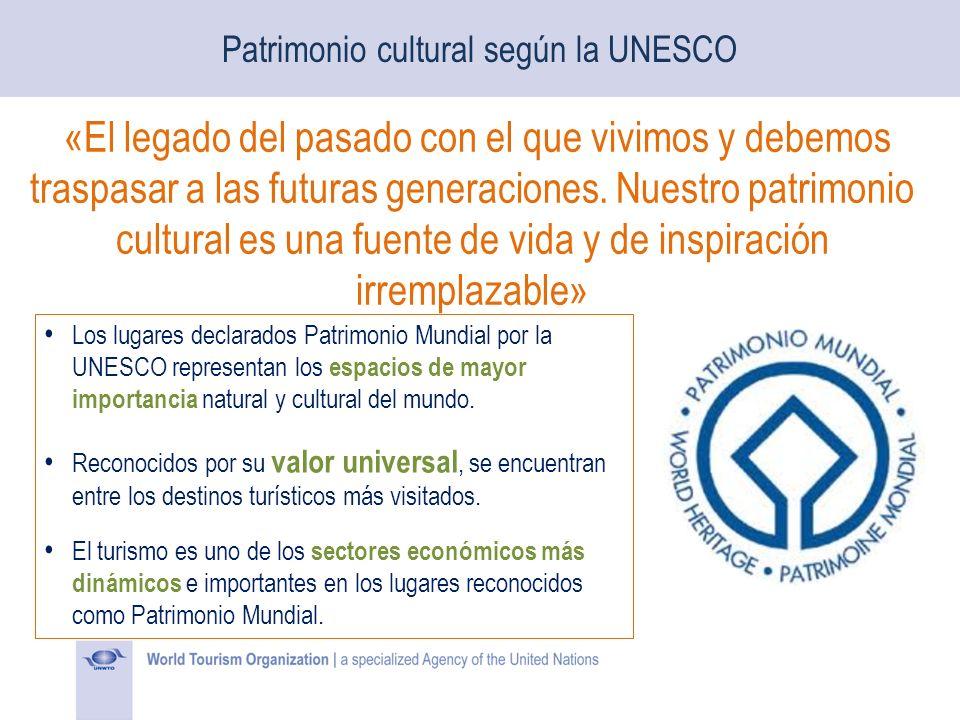 Los lugares declarados Patrimonio Mundial por la UNESCO representan los espacios de mayor importancia natural y cultural del mundo. Reconocidos por su