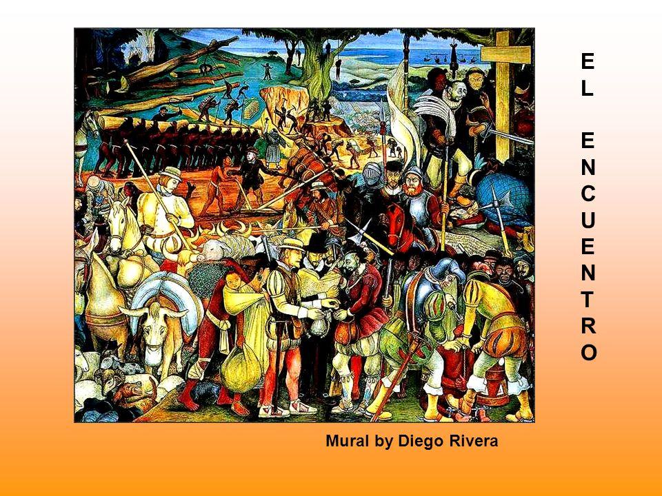 El Encuentro 11 de abril de 1519.- Hernán Cortés llega a las playas de Veracruz.