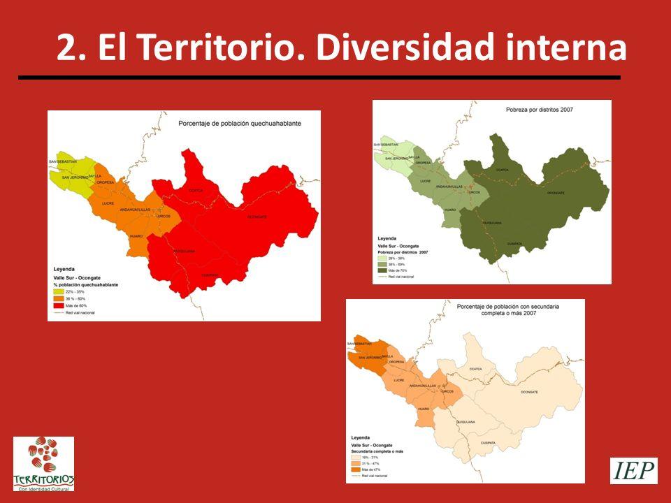 2. El Territorio. Diversidad interna
