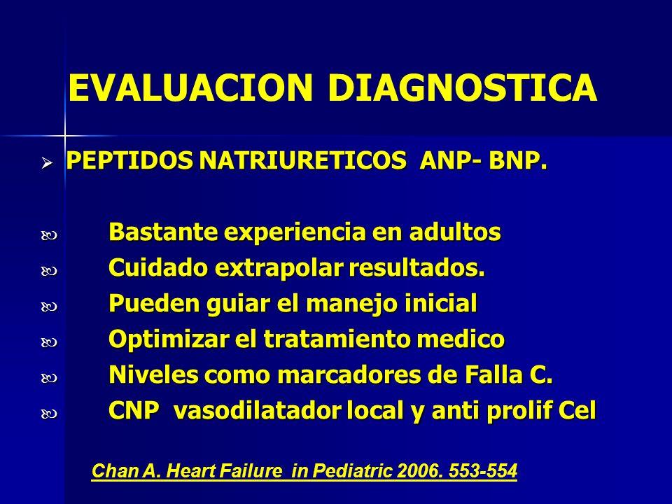PEPTIDOS NATRIURETICOS ANP- BNP. PEPTIDOS NATRIURETICOS ANP- BNP. Bastante experiencia en adultos Bastante experiencia en adultos Cuidado extrapolar r