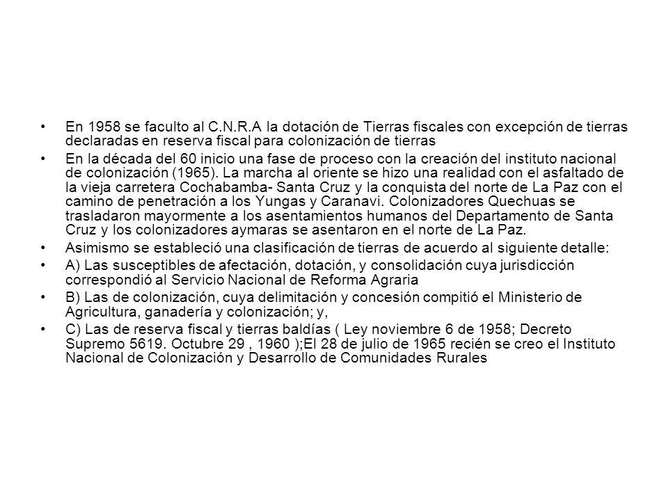 ATRIBUCIONES DEL I.N.C.