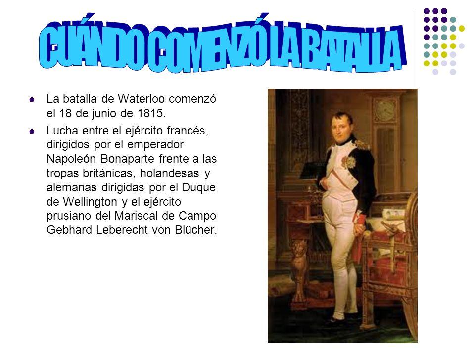 Por qué se libró la batalla A mediados de 1813 el imperio napoleónico se encontraba rodeado de enemigos en guerra.