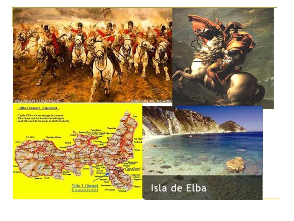 Causas de la batalla El 26 de febrero Napoleón huye de la isla de Elba.