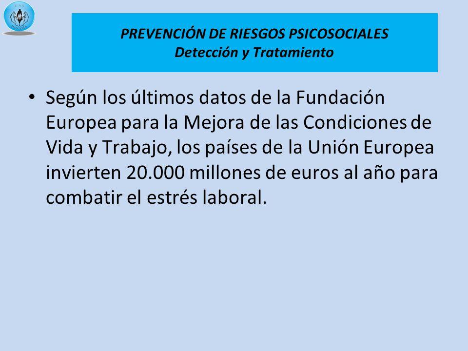 Según los últimos datos de la Fundación Europea para la Mejora de las Condiciones de Vida y Trabajo, los países de la Unión Europea invierten 20.000 m