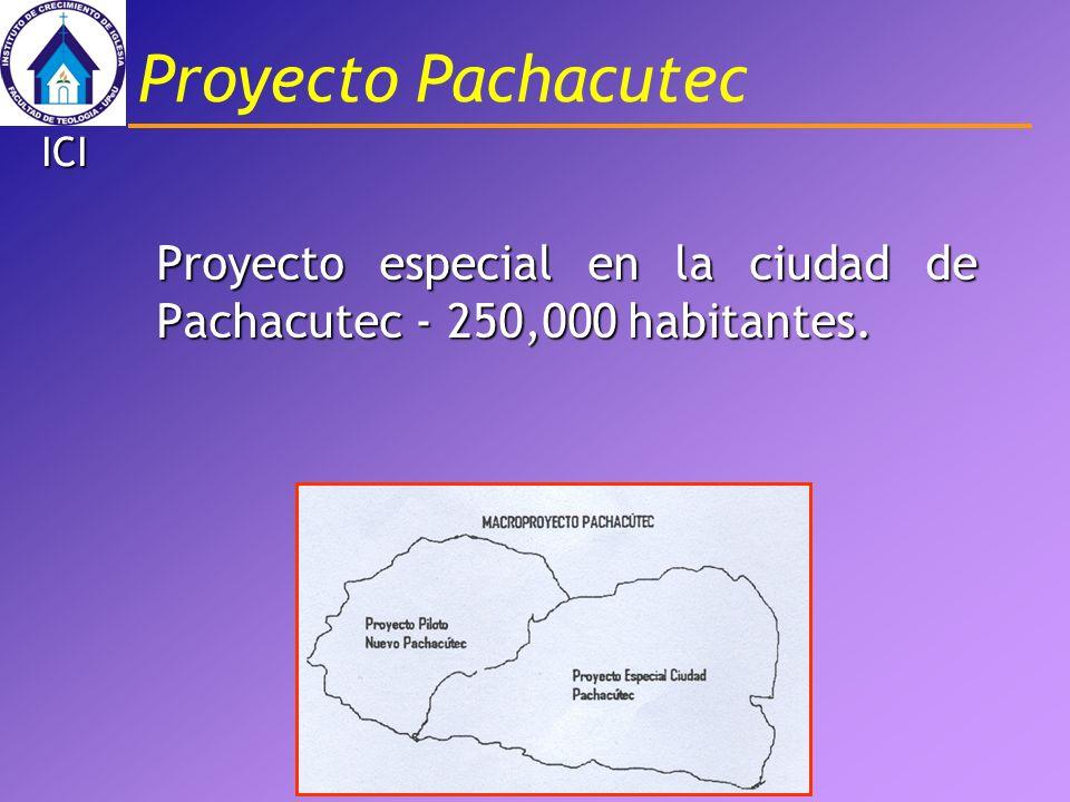 ICI Proyecto especial en la ciudad de Pachacutec - 250,000 habitantes. Proyecto Pachacutec