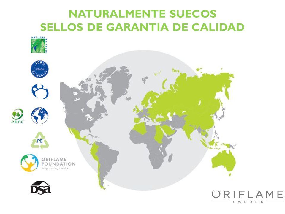 NATURALMENTE SUECOS SELLOS DE GARANTIA DE CALIDAD
