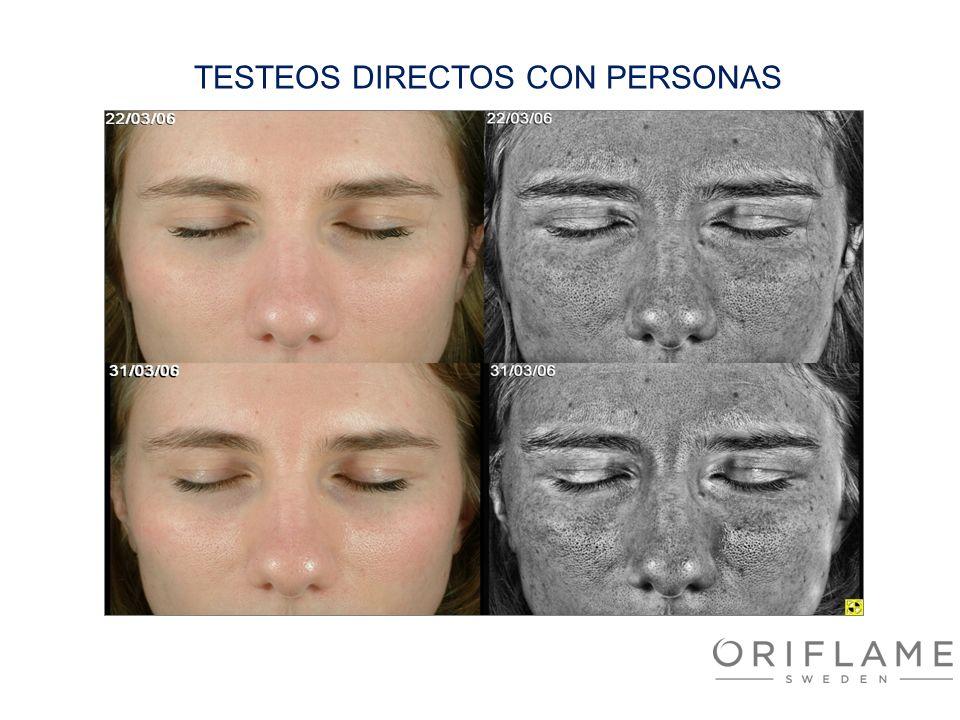 TESTEOS DIRECTOS CON PERSONAS