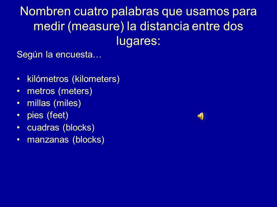 10.¿Cómo se dice en español? How far is it from here to the library? ¿Cuánto hay de/desde aquí a/hasta la biblioteca?
