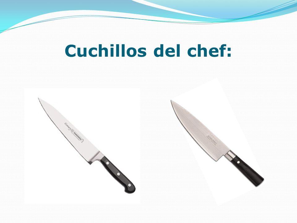 Cuchillos del chef: