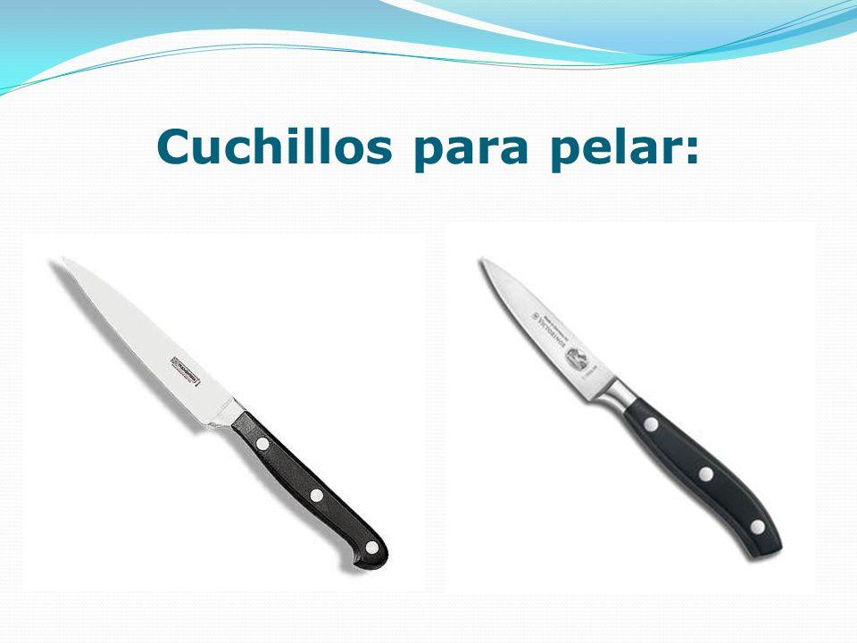 Cuchillos para pelar: