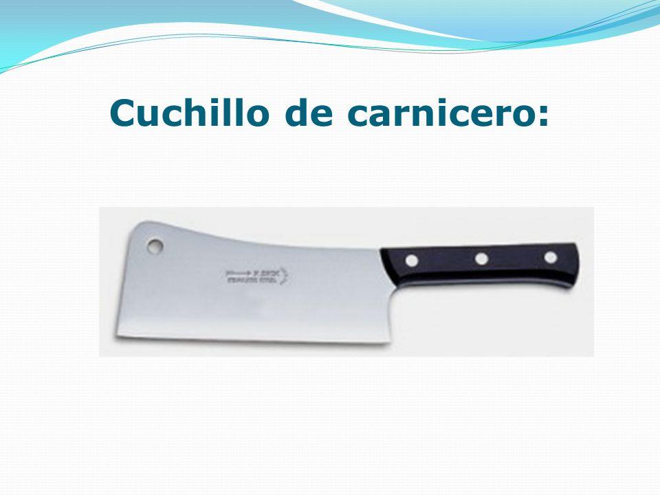 Cuchillo de carnicero: