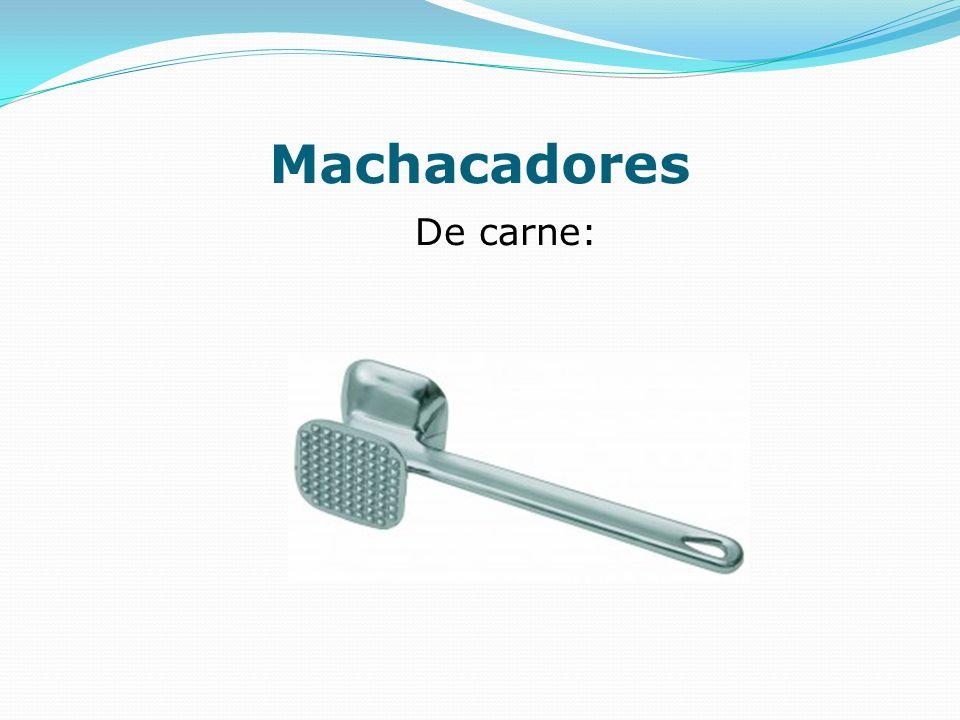 Machacadores De carne: