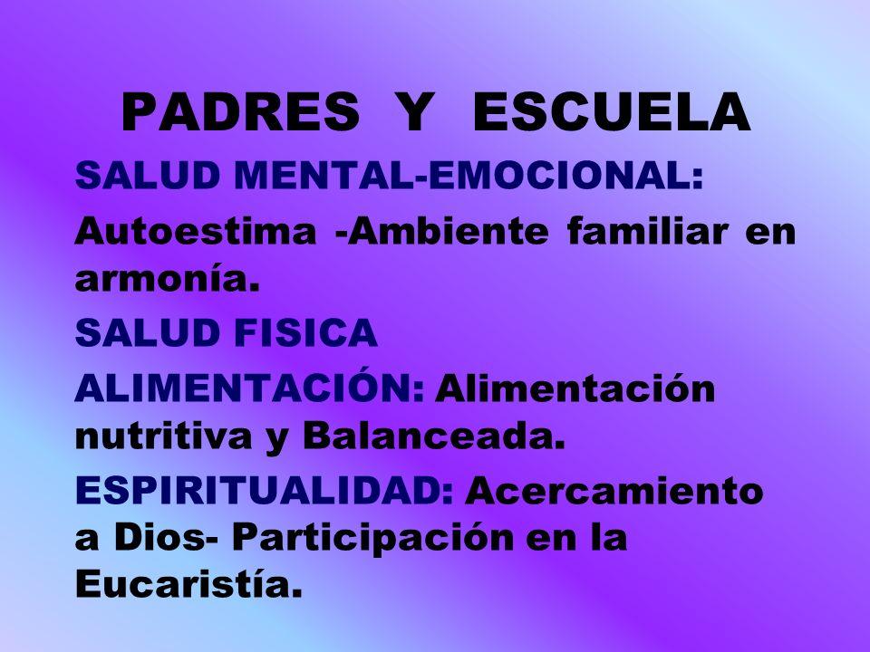 PADRES Y ESCUELA VALORES Primer bimestre: Respeto y Responsabilidad.