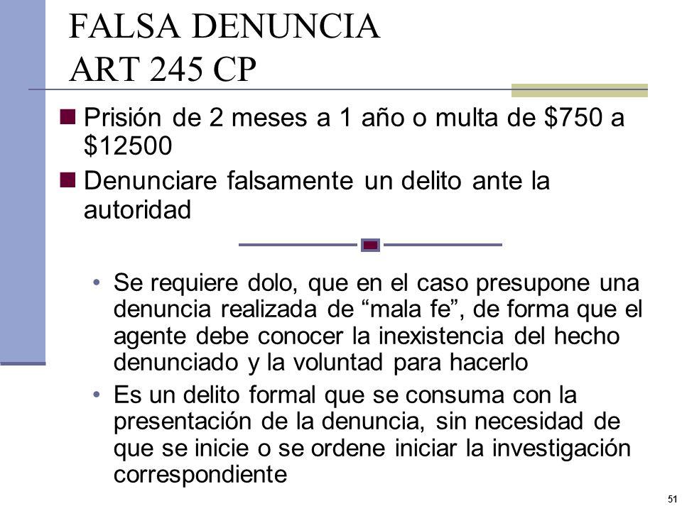 50 ABUSO DE AUTORIDAD Distinción por la entidad de la norma que impone el deber de actuación del agente Delitos de abuso Ley formal Incumplimiento de