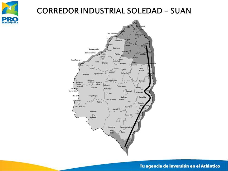 CORREDOR INDUSTRIAL SOLEDAD – SUAN