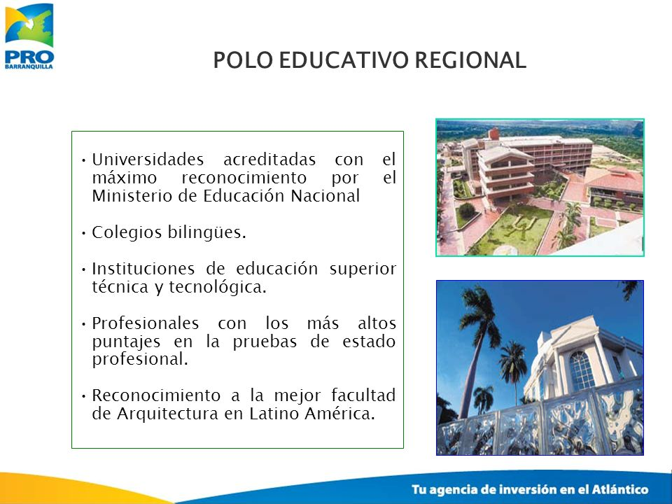 Universidades acreditadas con el máximo reconocimiento por el Ministerio de Educación Nacional Colegios bilingües. Instituciones de educación superior
