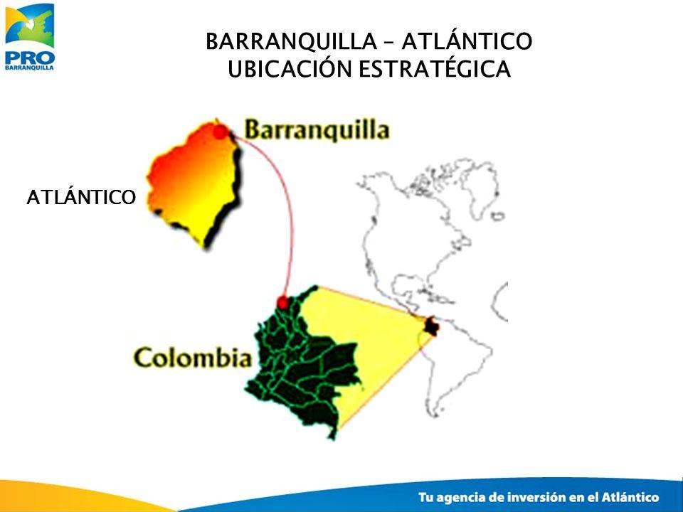BARRANQUILLA – ATLÁNTICO UBICACIÓN ESTRATÉGICA ATLÁNTICO