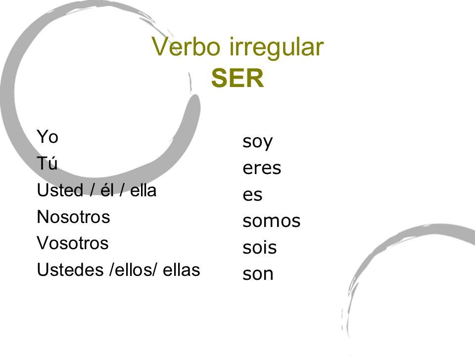 Presente de los verbos irregulares TENER / VENIR