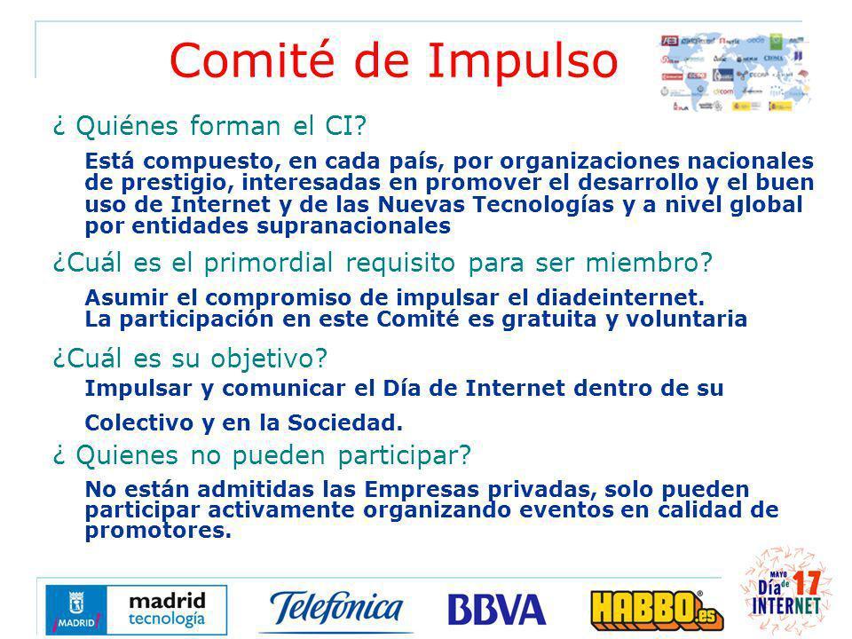 Comité de Impulso ¿ Quiénes forman el CI.