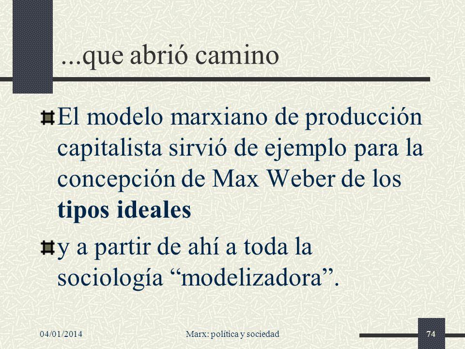 04/01/2014Marx: política y sociedad75 Nacimiento, también, de la sociología empírica Con obras como La condición de la clase obrera en Inglaterra en 1844 (publicada en mayo de 1845), de Friedrich Engels --el colaborador y gran amigo de Marx--, comienza la tradición empírica de la sociología.