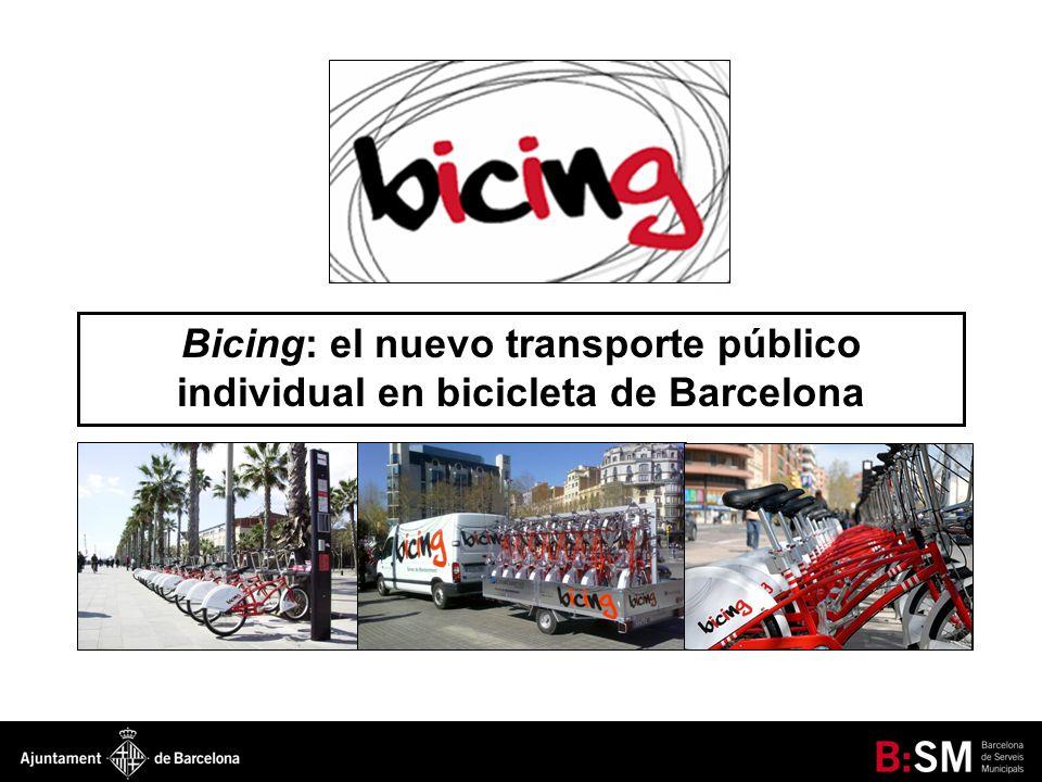 EL NUEVO MODELO DE TRANSPORTE PÚBLICO INDIVIDUAL EN BICICLETA 1.- BICICLETA EN TRANSPORTE PÚBLICO O TRANSPORTE PÚBLICO EN BICICLETA - Ineficiencia en el uso de la bicicleta.