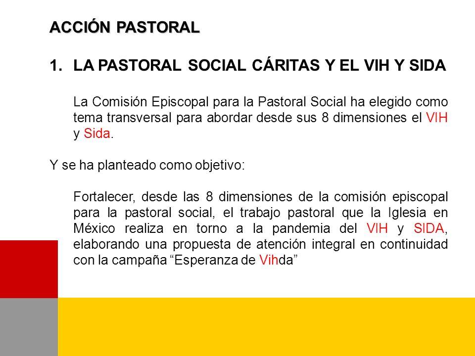 1.Diseñar una campaña de sensibilización sobre la importancia de la atención pastoral a los portadores de VIH y SIDA.