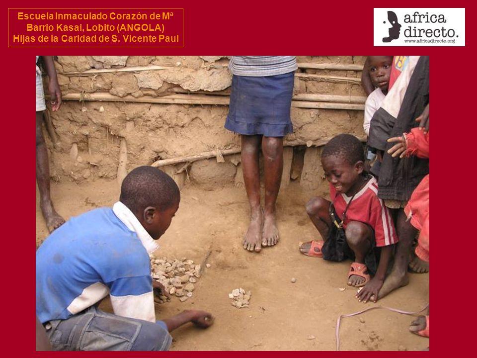 Escuela Inmaculado Corazón de Mª Barrio Kasai, Lobito (ANGOLA) Hijas de la Caridad de S.