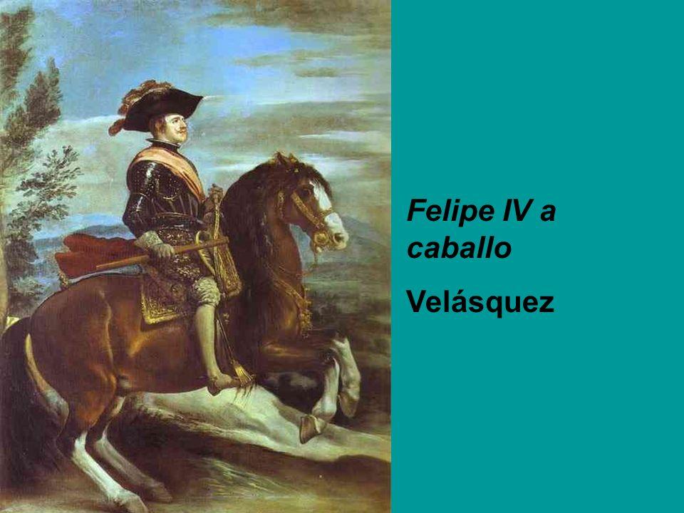Felipe IV a caballo Velásquez