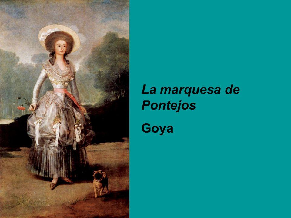 La marquesa de Pontejos Goya