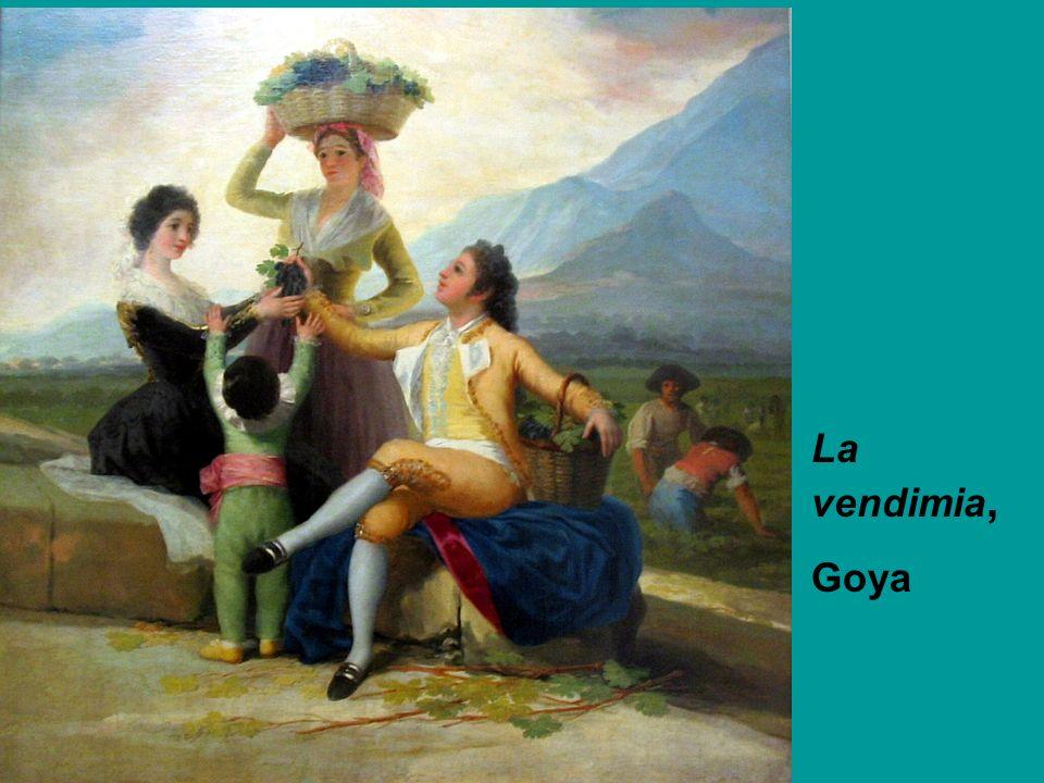 La vendimia, Goya
