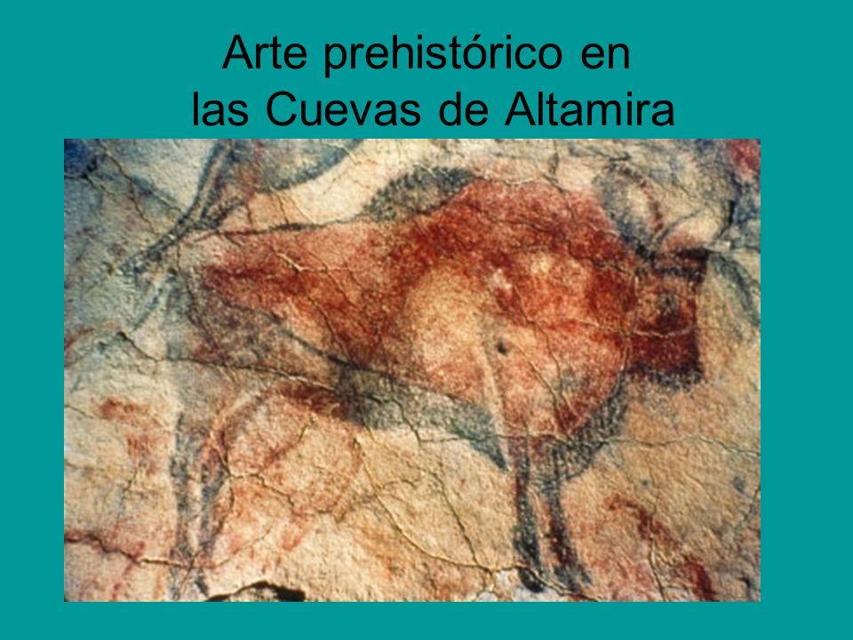 Arte prehistórico en las Cuevas de Altamira