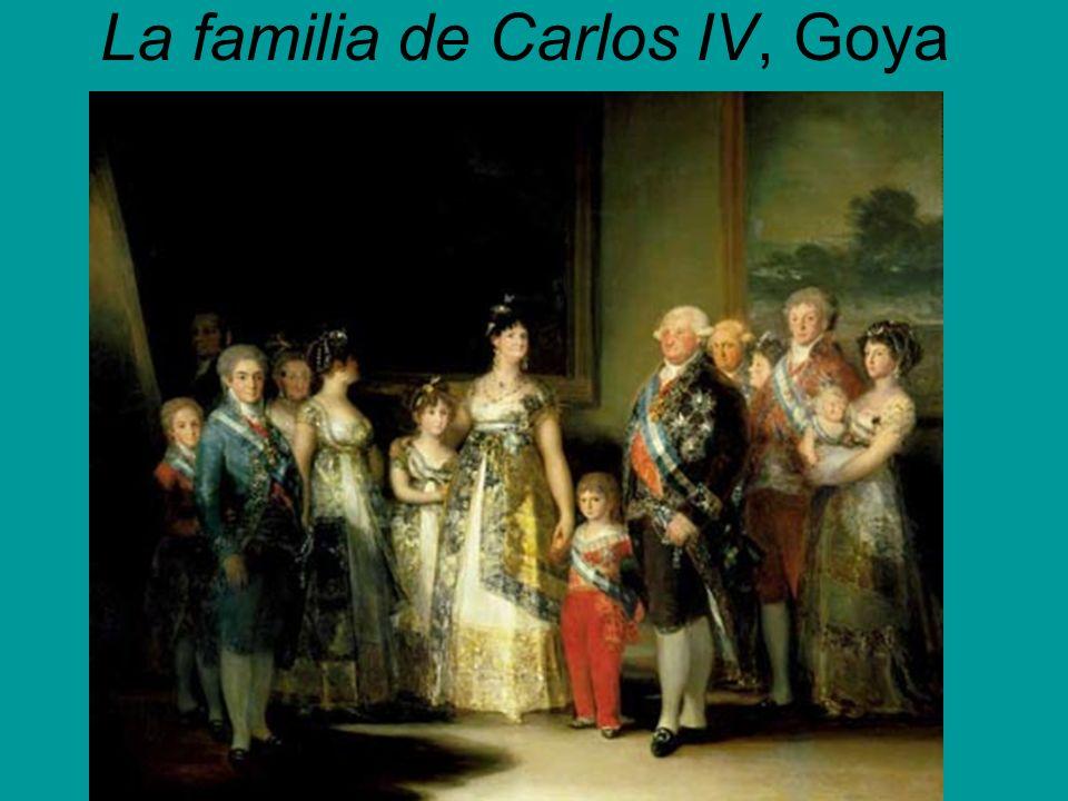 La familia de Carlos IV, Goya