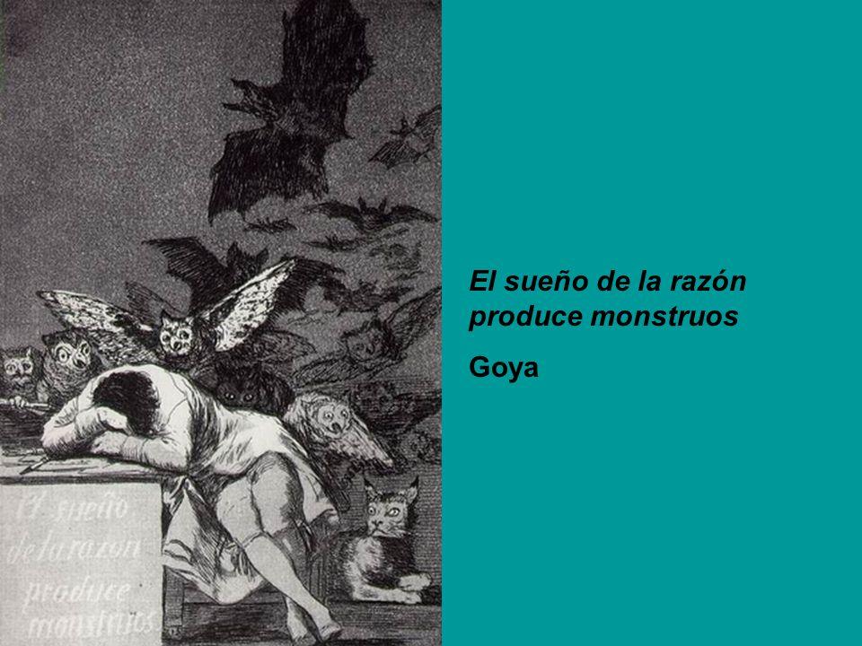El sueño de la razón produce monstruos Goya