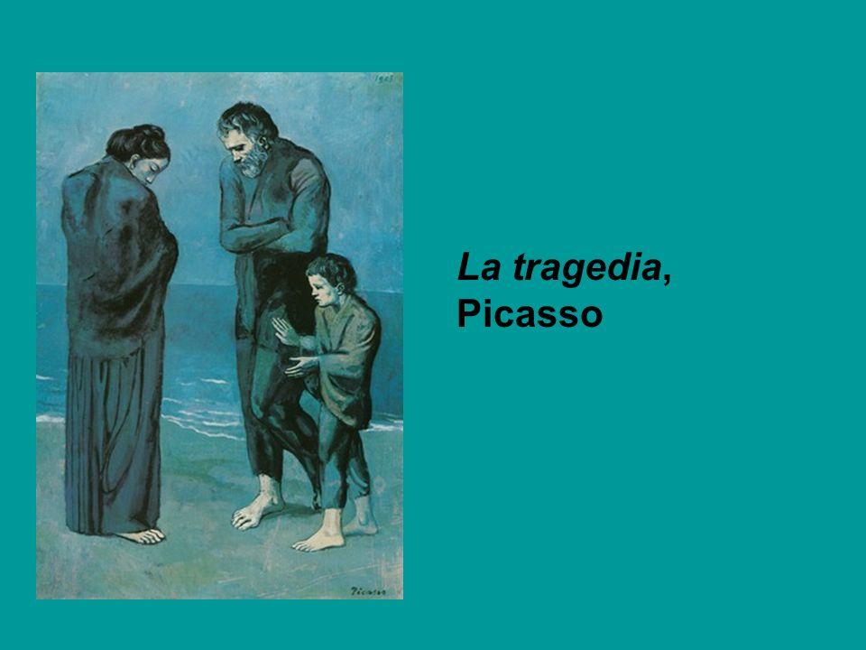 La tragedia, Picasso