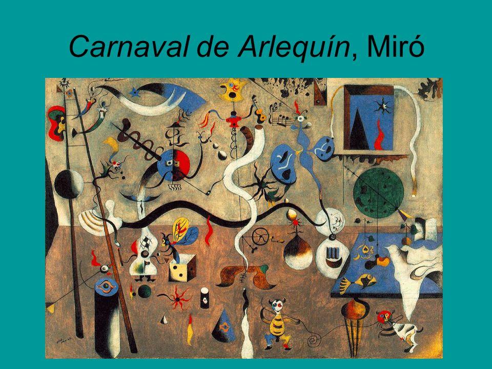 Carnaval de Arlequín, Miró