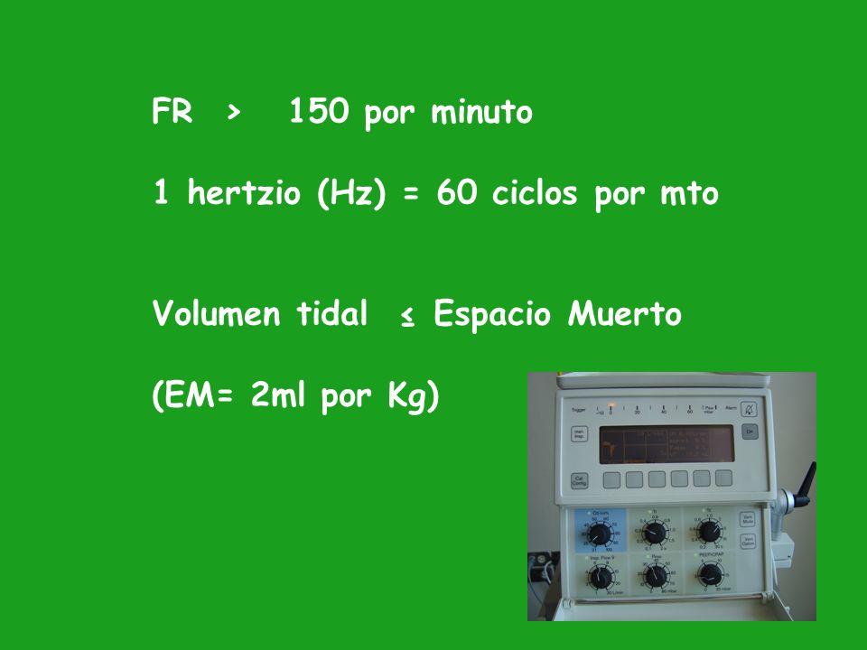 1.- Mecanismo de produccion de alta frecuencia 2.- Forma de realizar la Espiracion TIPOS DE VENTILADORES DE ALTA FRECUENCIA