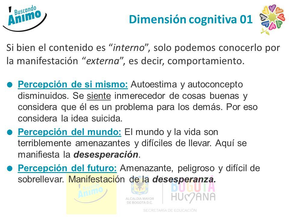 Existirían cuatro (4) grandes áreas que hay que evaluar: Cognitiva: Manifestación del pensamiento y el afecto.