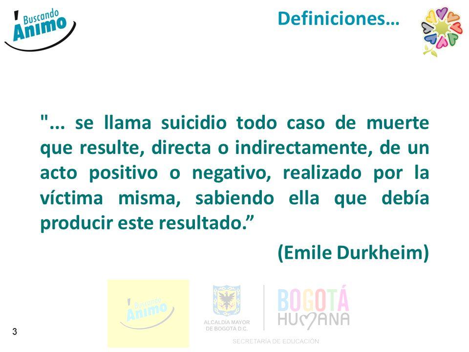 2 Convenio Secretaría de Educación Distrital Corporación Buscando Ánimo Formación a orientadores Sesión 05 Ruta de canalización de casos de suicidio
