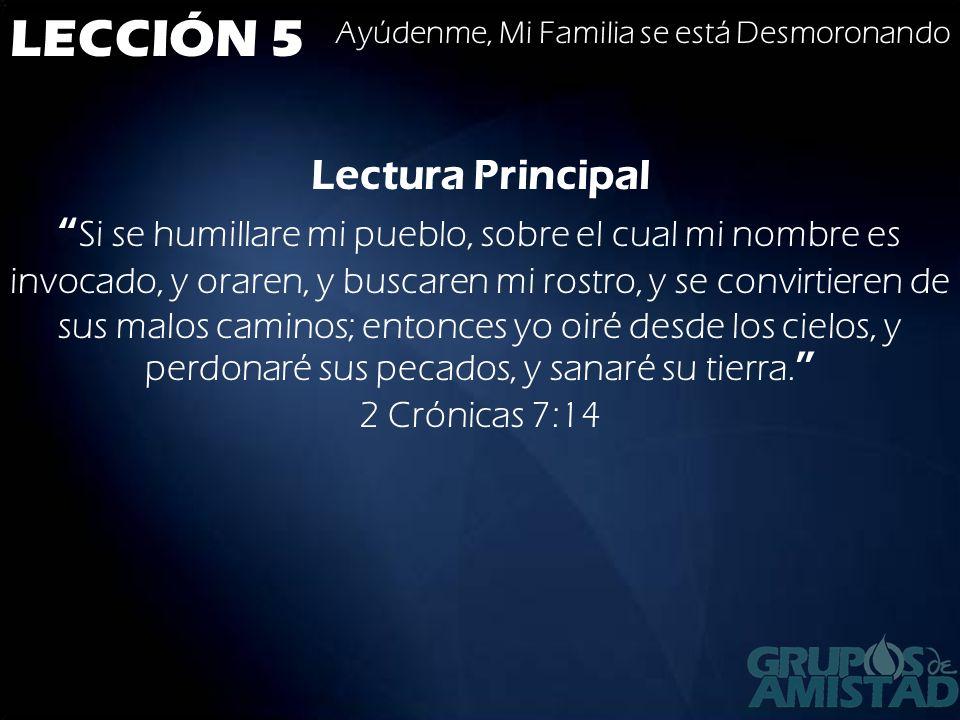 LECCIÓN 5 Ayúdenme, Mi Familia se está Desmoronando Conclusión Como se ha dicho en esta lección, jurisdicción se refiere al derecho a hablar.