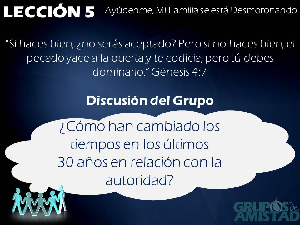LECCIÓN 5 Hijos, obedezcan a sus padres en el Señor, porque esto es justo.
