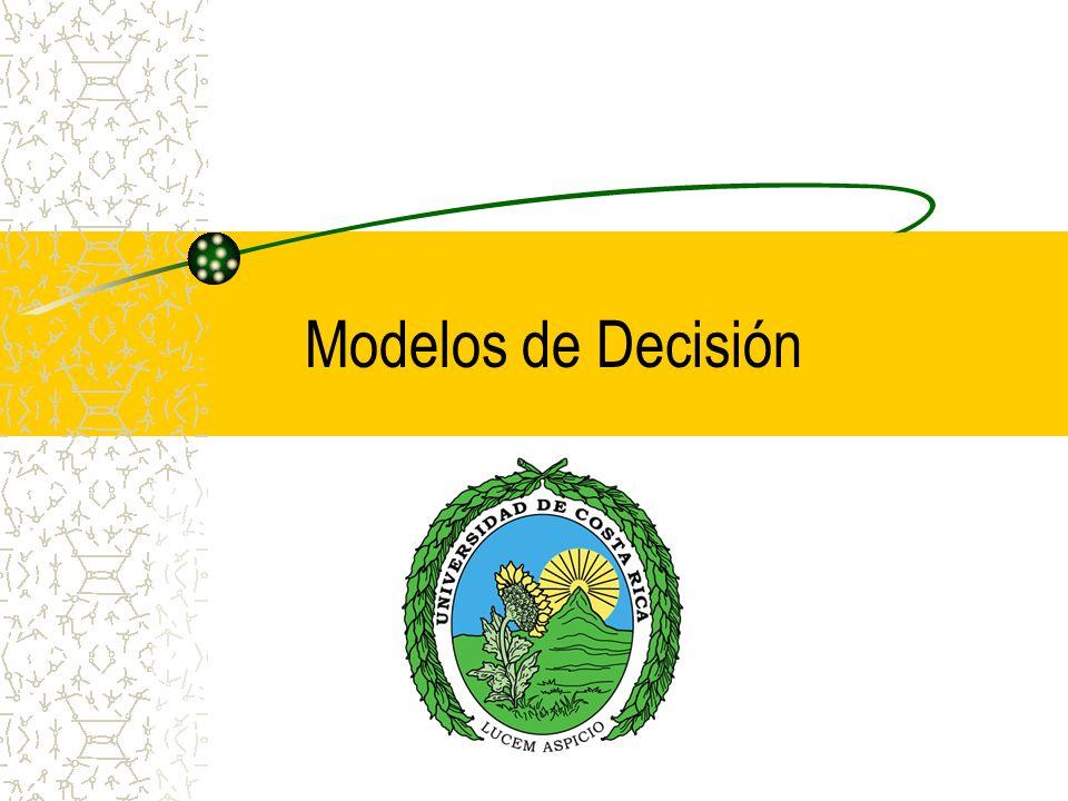 Modelos de Decisión